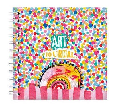 Studio Light By Marlene Art Journal Confetti Marlene's World nr.12 JOURNALBM12 100x100mm (01-21)