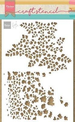 Marianne Design Craft Stencil - A5 - Tiny's Vlinder textures PS8078 (01-21)