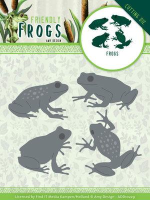 ADD10229 Dies - Amy Design - Friendly Frogs - Frog