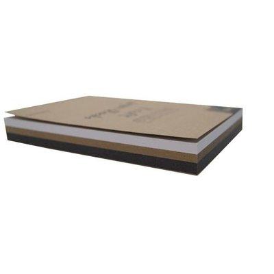 Joy Crafts Gemixt Kraft Papierbloc A6 220gr Wit/kraft/zwart 3x20 vel