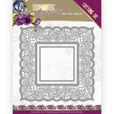 PM10194 Dies - Precious Marieke - Romantic Roses - Rose Frame