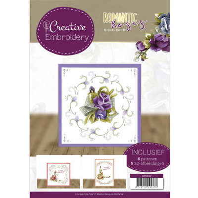 CB10022 Creative Embroidery 22 - Precious Marieke - Romantic Roses