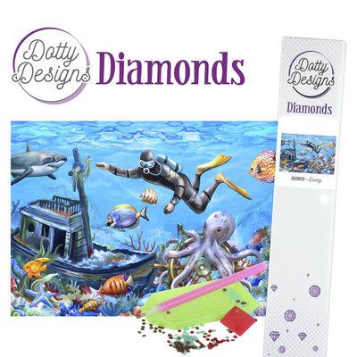 DDD1029 Dotty Designs Diamonds - Diving
