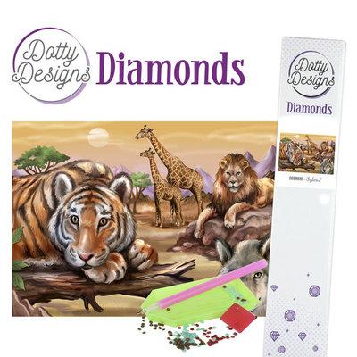DDD1028 Dotty Designs Diamonds - Safari 2