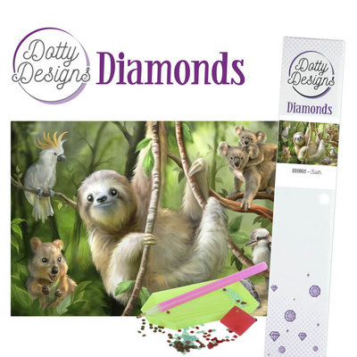 DDD1021 Dotty Designs Diamonds - Sloth