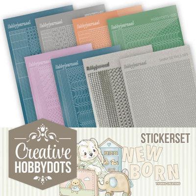 CHSTS011 Creative Hobbydots Stickerset 11 - Yvonne Creations - Newborn