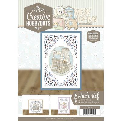 CH10011 Creative Hobbydots 11 - Yvonne Creations - Newborn