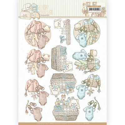 CD11628 3D cutting sheet - Yvonne Creations - Newborn - Baby Clothes
