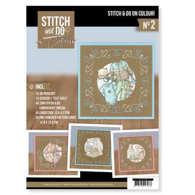 STDOOC10002 Stitch and Do on Colour 002 - Yvonne Creations - Newborn
