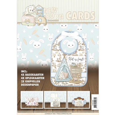 YCNBC10001 Newborn Cards - Yvonne Creations - Newborn