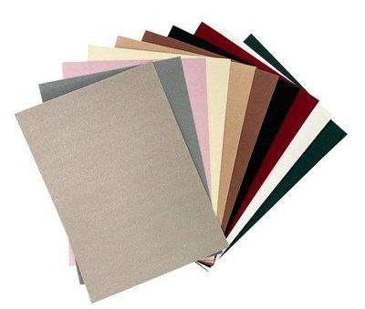 Joy! Crafts Fluweel Papier zelfklevend Natuur kleuren 10vl 8011/0004 29,7x21cm (02-21)