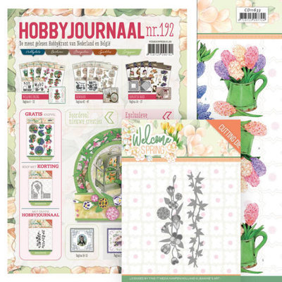 SETHJ192 Hobbyjournaal 192 SET Met mal JAD10114