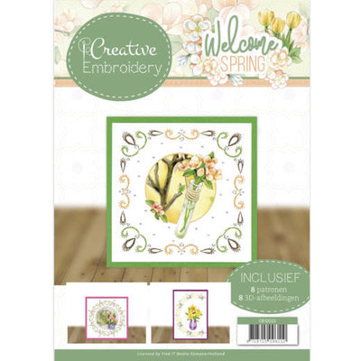 CB10023 Creative Embroidery 23 - Jeanine's Art - Welcome Spring