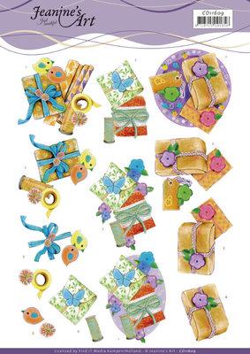 CD11609 3D Cutting Sheet - Jeanine's Art - Present
