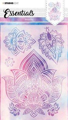 Studio Light Mask Mandala bloemen Essentials nr.27 SL-ES-MASK27 A5 (03-21)