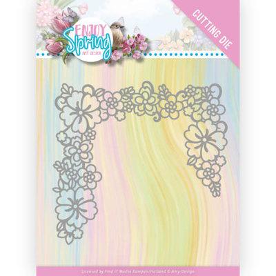 ADD10237 Dies -Amy Design - Enjoy Spring - Flower Edge