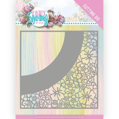 ADD10236 Dies - Amy Design - Enjoy Spring - Flower Frame