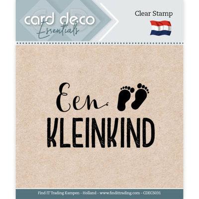 CDECS031 Card Deco Essentials - Clear Stamps - Een Kleinkind