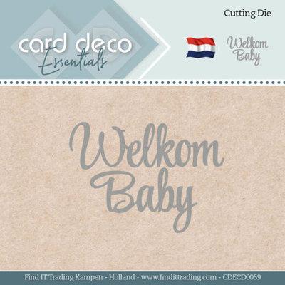 CDECD0059 Card Deco Essentials - Dies - Welkom Baby