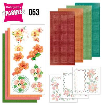 Sparkles Set 53 - Jeanine's Art - Exotic Flowers