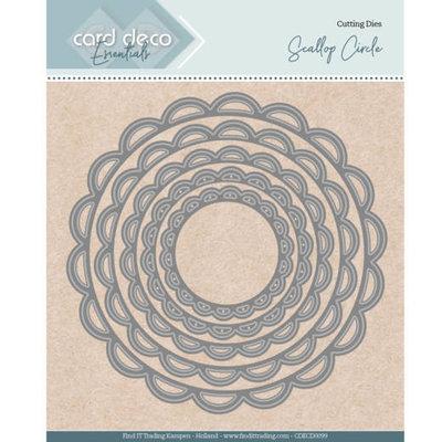 CDECD0099 Card Deco Essentials - Nesting Dies - Scallop Circle