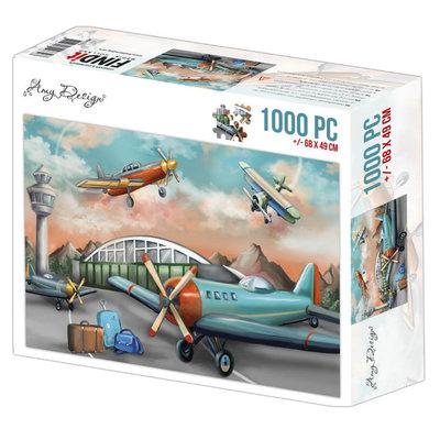 ADPZ1013 Jigsaw puzzel 1000 pc - Amy Design - Planes