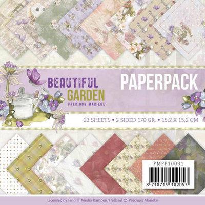 PMPP10031 Paperpack - Precious Marieke - Beautiful Garden