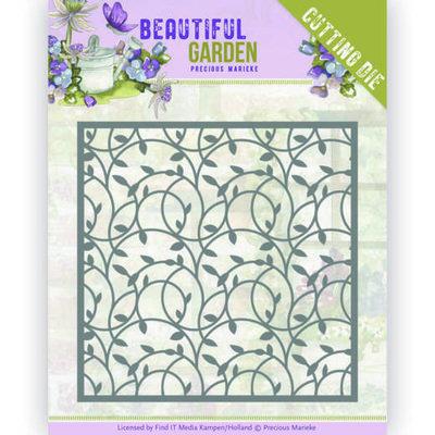 PM10201 Dies - Precious Marieke - Beautiful Garden - Leaf Frame