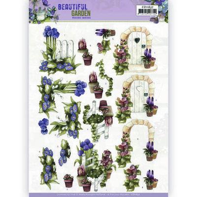 CD11637 3D Cutting Sheet - Precious Marieke - Beautiful Garden - Allium