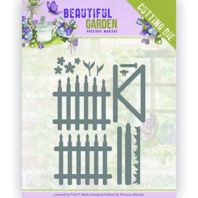 PM10204 Dies - Precious Marieke - Beautiful Garden - Fences