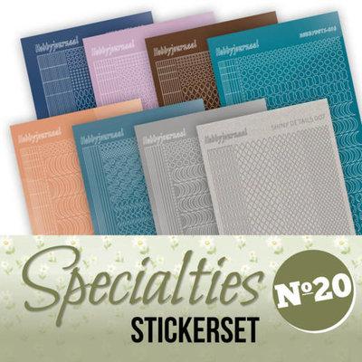 Specialties 20 Stickerset