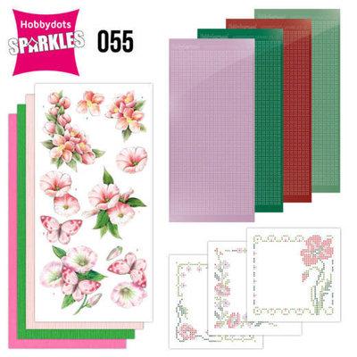 Sparkles Set 55 - Jeanine's Art - Pink Flowers