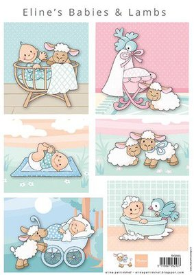 Marianne D Knipvellen Eline's Babies & lammetjes AK0085 A4 (05-21)