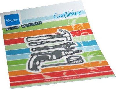 Marianne D Craftable Gereedschappen CR1549 70x82mm (05-21)