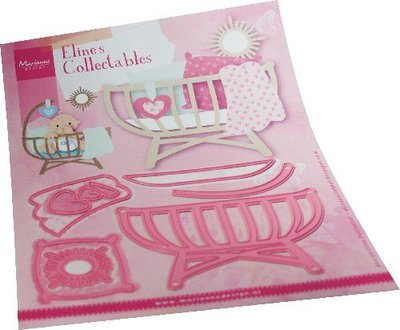 Marianne D Collectables Eline's Babybedje COL1495 128x92mm (05-21)