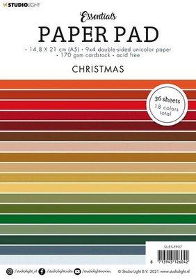 Studio Light Paper pad Essentials Christmas nr.7 SL-ES-PP07 A5 (05-21)