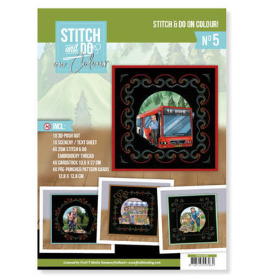 STDOOC10005 Stitch and Do on Colour 005 - Yvonne Creations - Big Guys professions