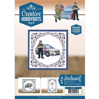 CH10014 Creative Hobbydots 14 Yvonne Creations - Big Guys - Professions