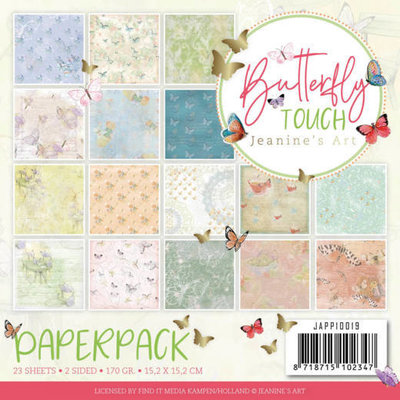 JAPP10019 Paperpack - Jeanine's Art - Butterfly Touch