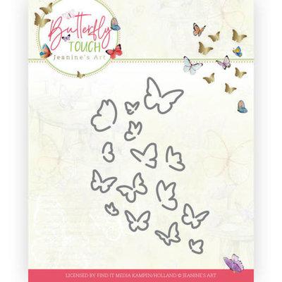 JAD10120 Dies - Jeanine's Art - Butterfly Touch - Bunch of Butterflies