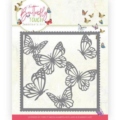 JAD10118 Dies - Jeanine's Art - Butterfly Touch - Butterfly Frame
