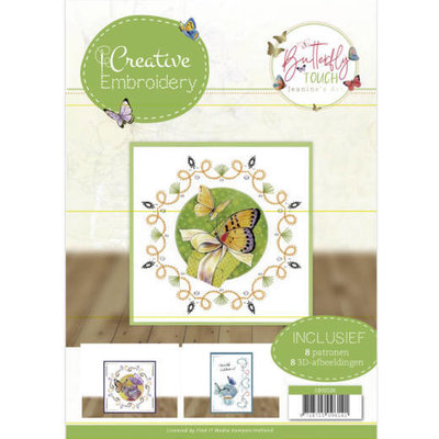 CB10026 Creative Embroidery 26 - Jeanine's Art - Butterfly Touch