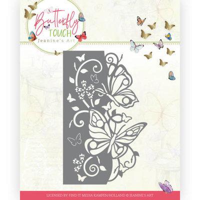 JAD10119 Dies - Jeanine's Art - Butterfly Touch - Butterfly Edge