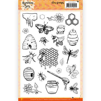 JACS10037 Clear Stamps - Jeanine's Art - Humming Bees