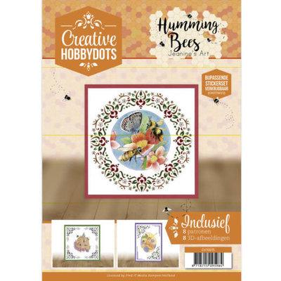CH10015 Creative Hobbydots 15 Jeanine's Art - Humming Bees