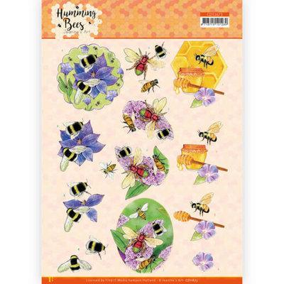 CD11673 3D Cutting Sheet - Jeanine's Art - Humming Bees - Honey