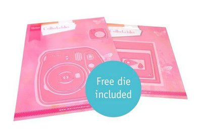 Marianne Design Collectables Instant camera COL1498 150x210mm (06-21)