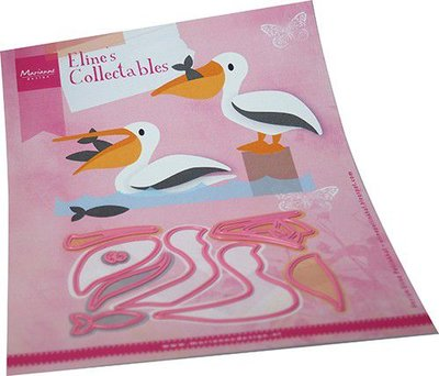 Marianne Design Collectables Eline's Pelikaan COL1496 150x210mm (06-21)