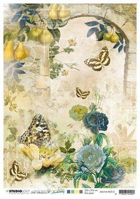 Studio Light Rice Paper Jenine's New Awakening nr.12 JMA-NA-RICE12 A4  (06-21)