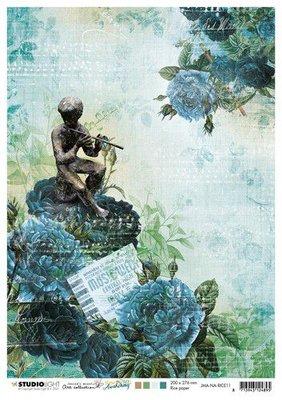 Studio Light Rice Paper Jenine's New Awakening nr.11 JMA-NA-RICE11 A4  (06-21)